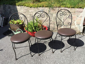 Outdoor Parlor Chairs