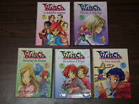 Livre francais collection Witch