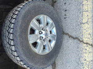 305/65/18 tires and rims