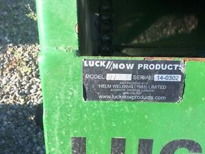 2014 Lucknow D9HD Snowblower London Ontario image 4