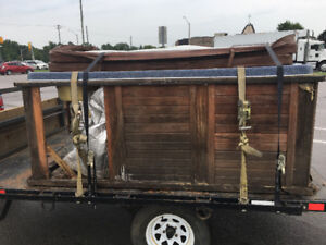 Hot tub moving or disposal new or used great service and price