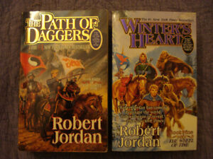 The Wheel of Time (Books 8 & 9) by Robert Jordan (SOFTCOVER)