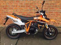NEW Sinnis Apache SMR 125 learner legal own this bike for only £12.58 a week
