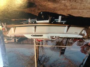 1976 O'Day 20 Sail boat, trailer, and motor.