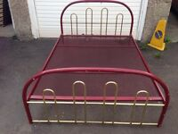Metal Double Bed.Strong frame