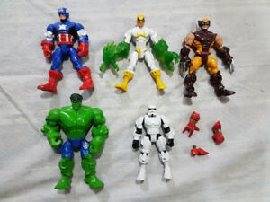Marvel and Star Wars Super Hero Masher Action Figures