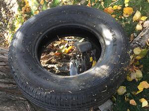 P265/75R17 continental M&S single tire
