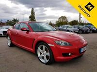 2005 55 MAZDA RX-8 2.6 192PS 4D 189 BHP! LOW MILEAGE! FULL LEATHER SPORTS SEATS!