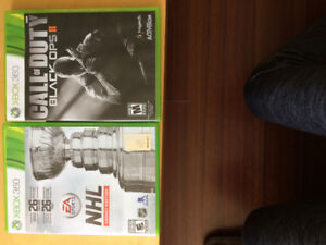 Never used games call of duty black 2 nhl