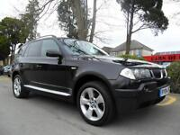 BMW X3 2.5i AUTO 2004 SE COMPLETE WITH M.O.T HPI CLEAR INC WARRANTY