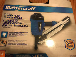 Table Saw, Framing Nailer, Air Compressor for sale