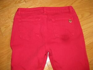 Michael Kors Red Jeans Size 8P West Island Greater Montréal image 2