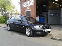 2002 Black BMW 316ti Compact 12 months MOT £495!