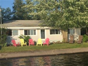 Four season cottage with personal boat launch!