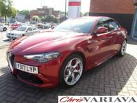 2017 Alfa Romeo Giulia 2.9 V6 BiTurbo Quadrifoglio 4dr Auto ** THE AWARD WINNING