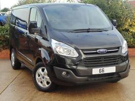 2016 Ford Transit Custom 2.2 TDCi 125ps L1 H1 Limited Van 2 door Panel Van