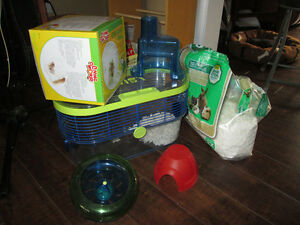 Habitrail hamster cage and accessories SOLD PPU