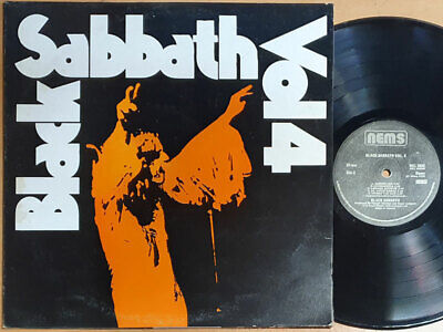 Black Sabbath - Vol. 4 / Korea Rare Vinyl. HM 69, VG+