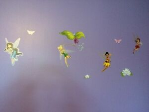 Tinkerbell and fairies wall stickers St. John's Newfoundland image 1