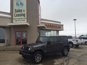 2014 Jeep Wrangler Unlimited RUBICON Nav/Auto $36897 Edmonton Edmonton Area image 1