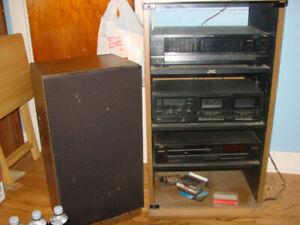 Vintage JVC Stereo System