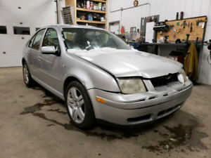 2003 jetta 1.8t with parts