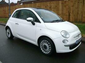 image for 2012 Fiat 500 1.2 Lounge 3dr [Start Stop] HATCHBACK Petrol Manual
