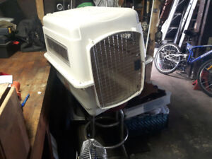 """DOG CAGE CARRIER 30""""l x24""""hx22""""wide"""