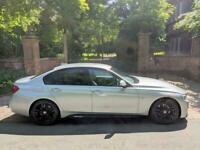 2016 BMW 330d M SPORT DIESEL AUTO 41,769 MILES M PERFORMANCE SAT NAV STUNNING