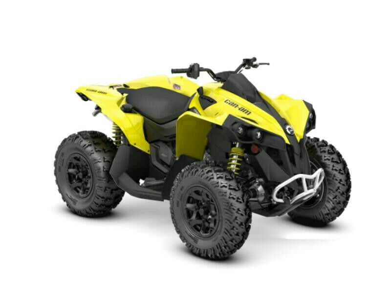 2020 Can-Am Renegade Yellow