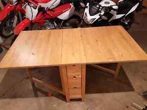 Ikea folding table Kawartha Lakes Peterborough Area image 1