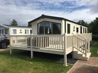 2015 modern 3 bed DG caravan Craig Tara wrap around decking