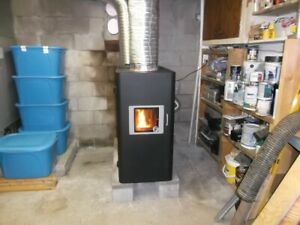 FOR SALE PELLET FURNACE     OPEN FOR OFFERS