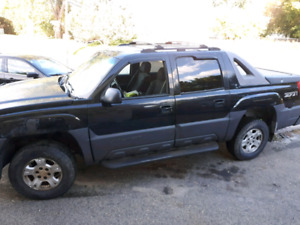 Chevrolet avalanche 4x4 winter ready