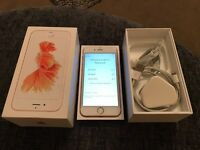 APPLE IPHONE 6s ROSE GOLD 64g VODAPHONE