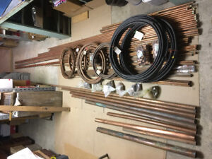 Copper tubes and copper pipe new and used