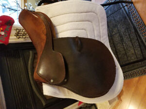 """17"""" Crosby Olympic works Saddle brown"""