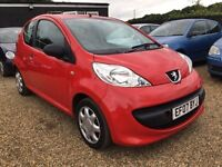 PUGEOT 107 URBAN 1.0 3DR IDEAL FIRST CAR CHEAP INSURANCE AND ONLY £20 road tax