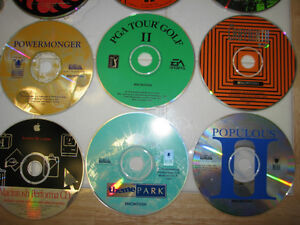 18 Software CD's for Mac