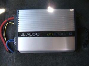 JL Audio JX1000/1 Monoblock D amplifier