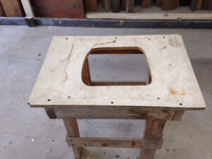 Construction Table Saw Stand Hand Built Work House Build