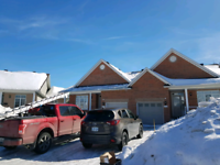Roof snow removal and ice dams