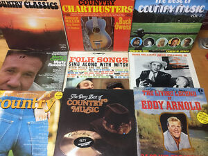 Disques vinyles 33 tours Country -Western English West Island Greater Montréal image 1