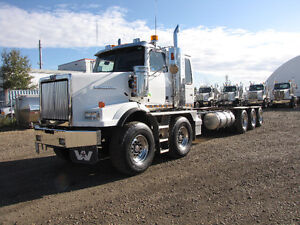 New Twin Steer Tridrive chassis Western Star 4900