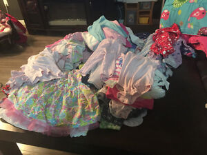 HUGE LOT of baby girls clothing 6-12 months