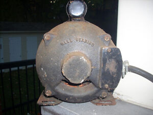 HOOVER BALL BEARING ELECTRIC MOTOR FOR SALE West Island Greater Montréal image 4
