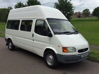 FORD TRANSIT 190 13 SEATER MINIBUS 1999 1 OWNER ONLY 59,000 MILES & VERY WELL LOOKED AFTER NO VAT