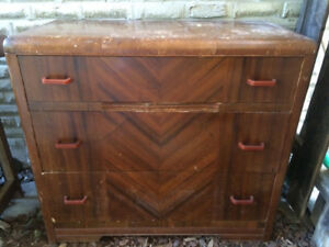 Vintage Art Deco  Dresser for Sale