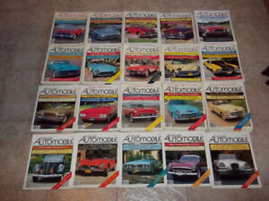 MAGAZINE COLLECTIBLE AUTOMOBILE