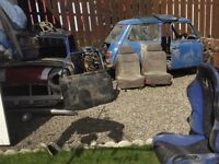 Mini x2 cars plus lots spares